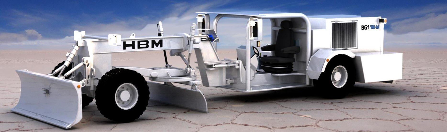Fahrzeug - HBM Grader BG110-M